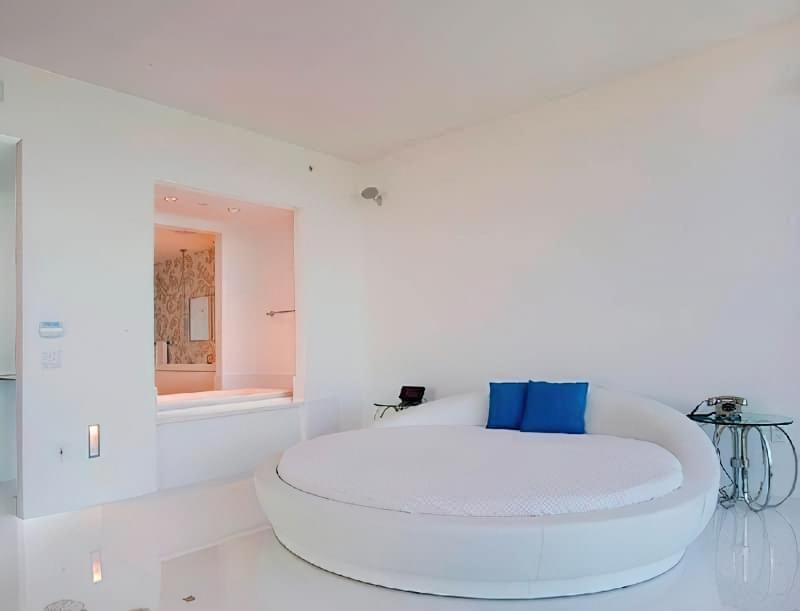 Круглі ліжка в інтер'єрі: фотопідбірка 2