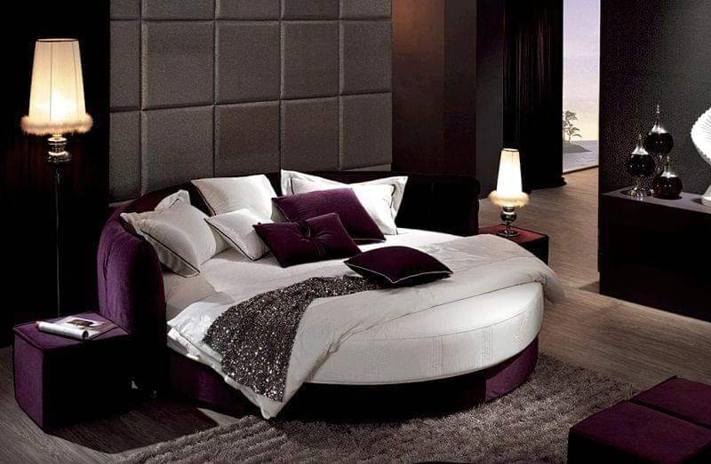 Круглі ліжка в інтер'єрі: фотопідбірка 8