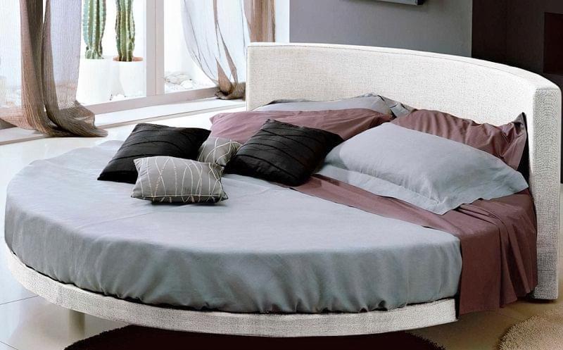 Круглі ліжка в інтер'єрі: фотопідбірка 1