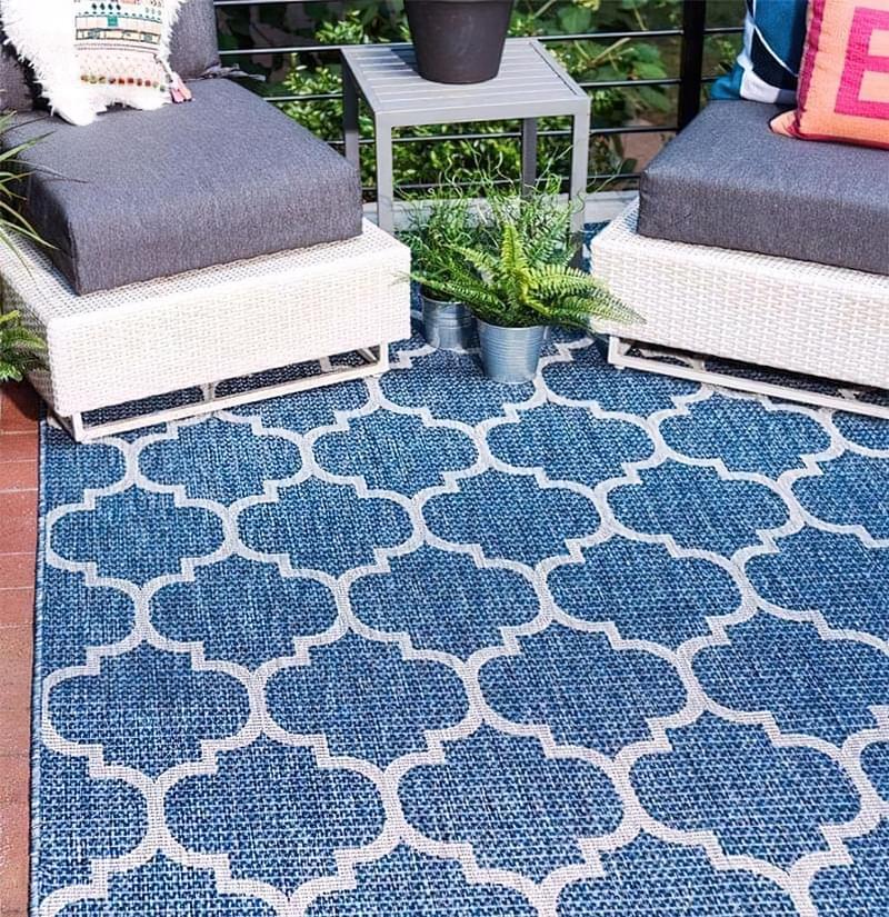Патіо і тераси з килимом: фотопідбірка 2