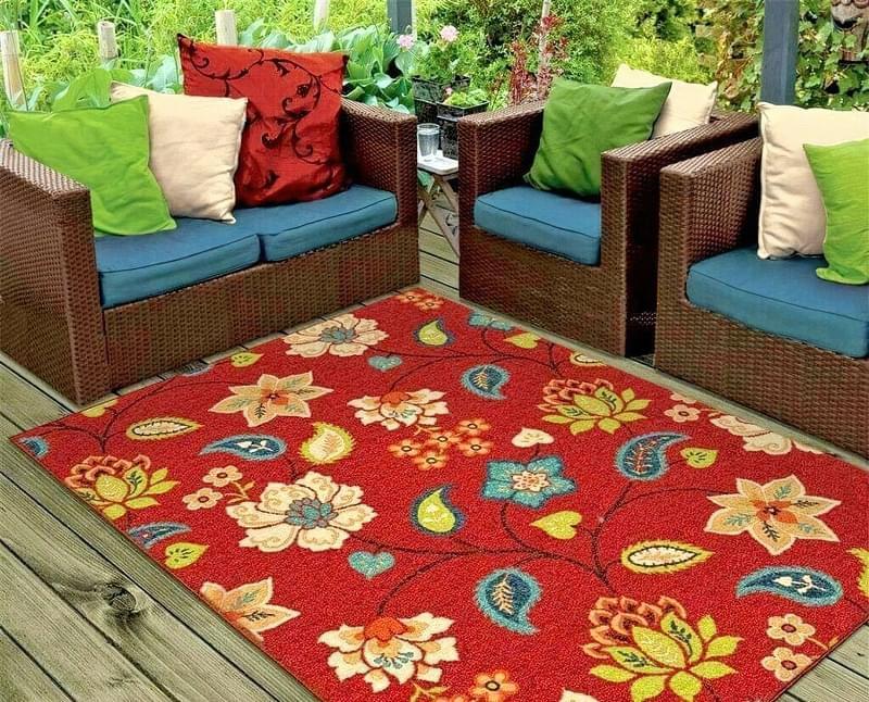 Патіо і тераси з килимом: фотопідбірка 4