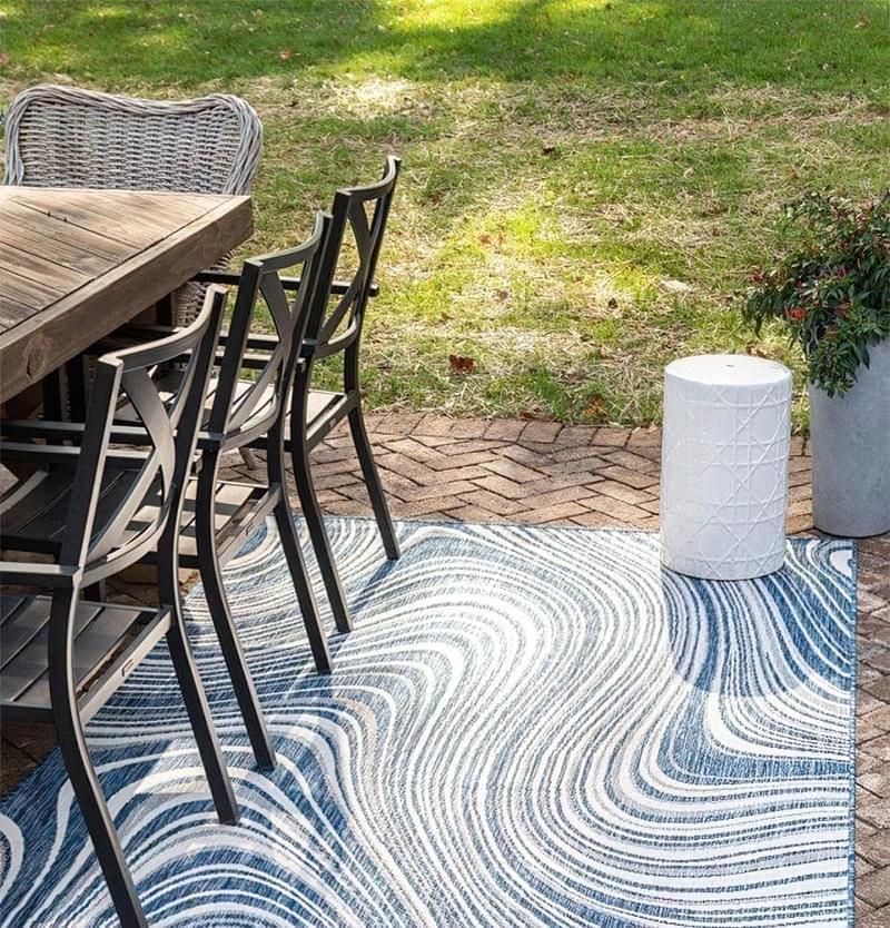 Патіо і тераси з килимом: фотопідбірка 9