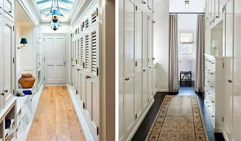 Варіанти розташування гардеробної кімнати в приватному будинку 7