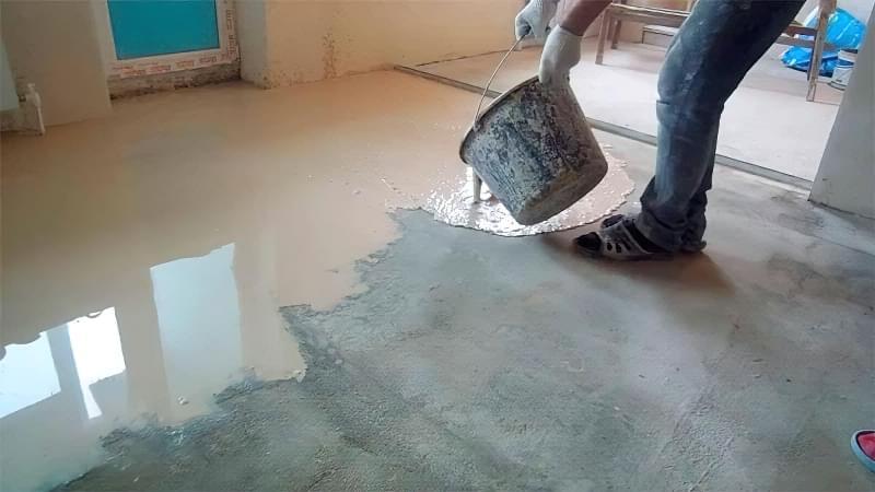 Як зробити підлогу з епоксидної смоли 4