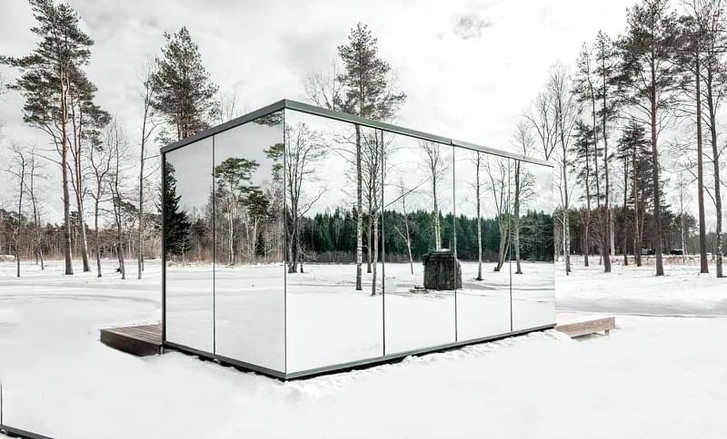 Будинки дзеркальними фасадами: фотопідбірка 2