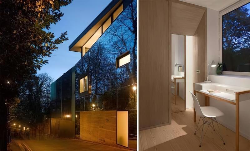 Будинки дзеркальними фасадами: фотопідбірка 3