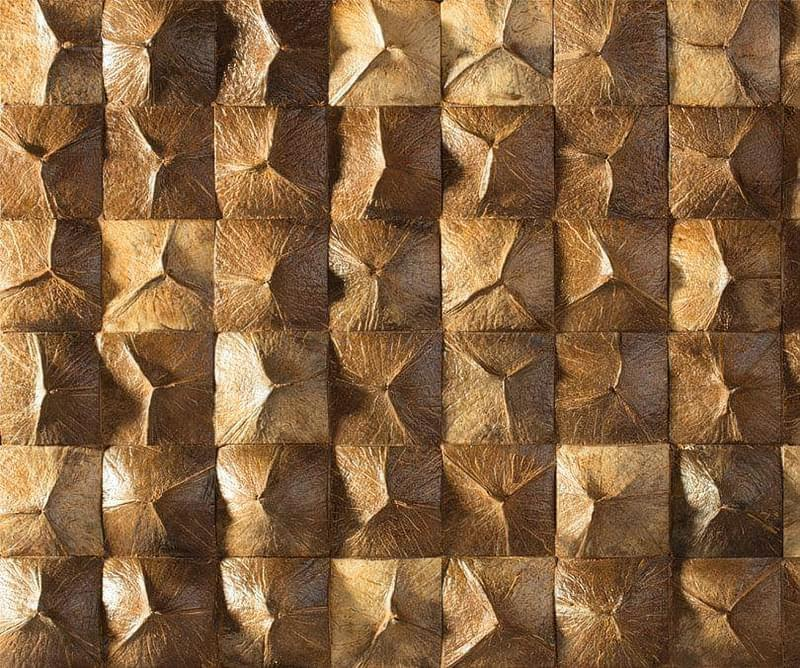 Кокосова плитка, мозаїка в інтер'єрі 1
