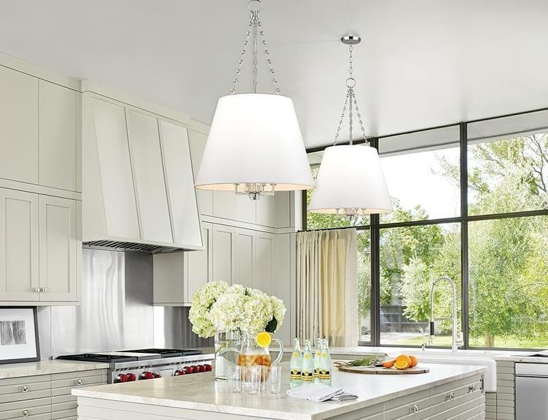 Вибираємо підвісні світильники для кухонного острова 3