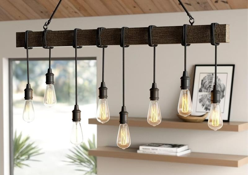Вибираємо підвісні світильники для кухонного острова 9