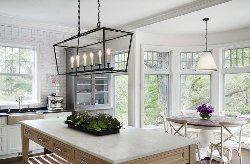 Вибираємо підвісні світильники для кухонного острова 1