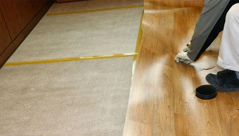 Вибираємо підкладку під лінолеум на бетонній підлозі 1