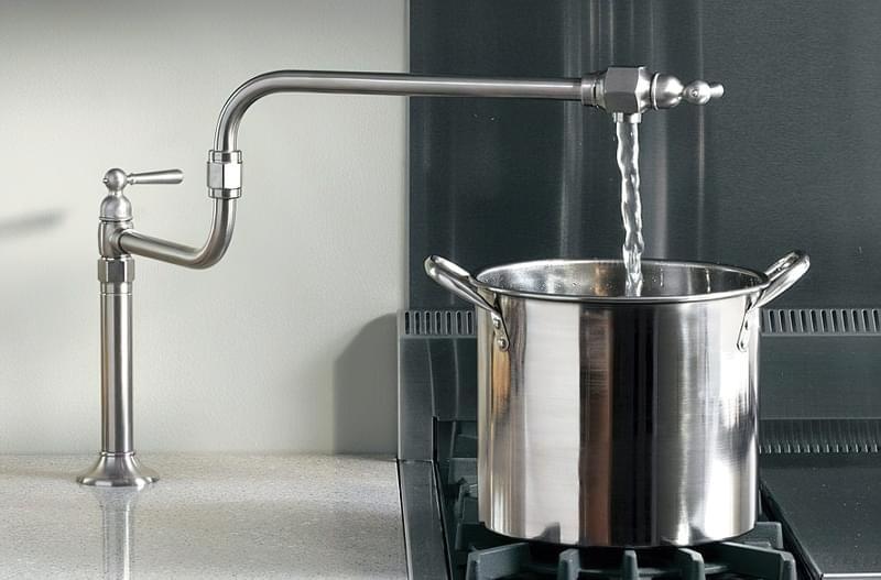 Наливні крани над плитою: користь і особливості 2