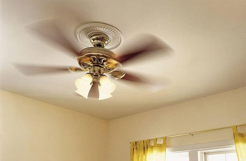 Стельовий вентилятор: особливості вибору і приклади в інтер'єрі 1