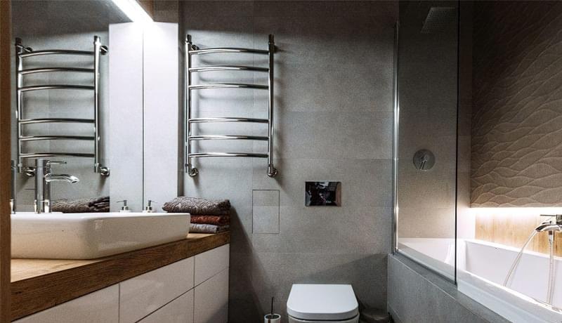 Ванна кімната в стилі лофт: особливості обробки і приклади оформлення 2