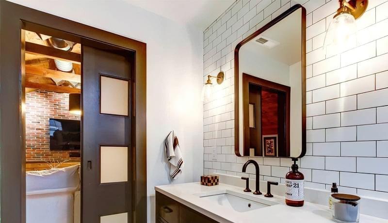 Ванна кімната в стилі лофт: особливості обробки і приклади оформлення 3