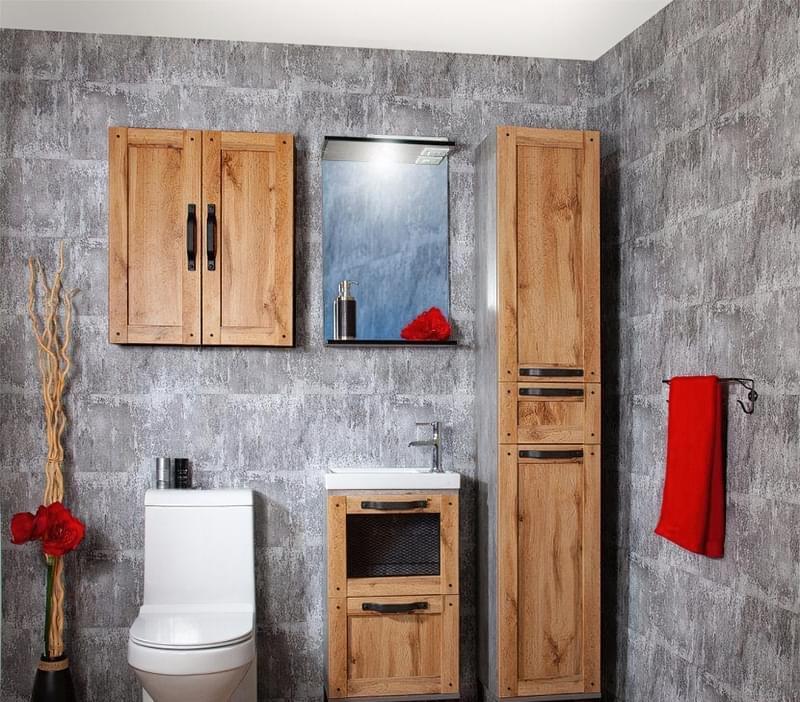 Ванна кімната в стилі лофт: особливості обробки і приклади оформлення 6