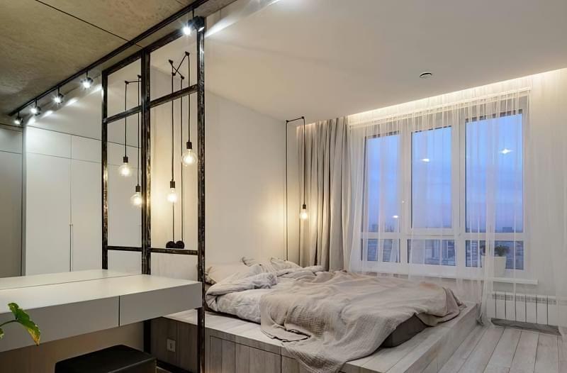 Як організувати правильне освітлення спальні 6
