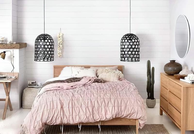 Як організувати правильне освітлення спальні 7