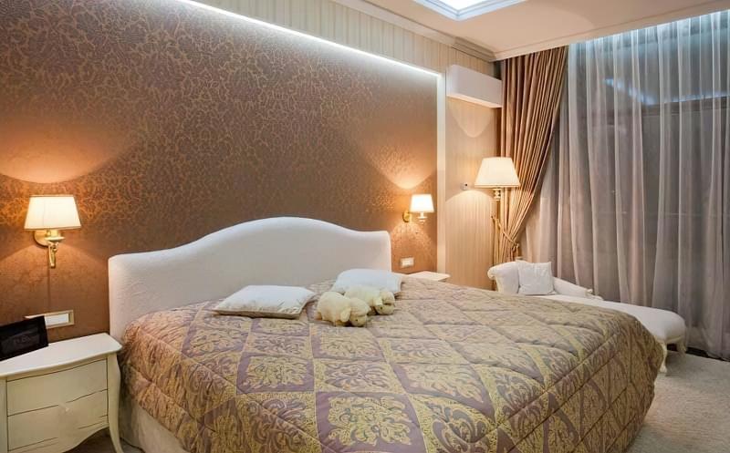 Як організувати правильне освітлення спальні 1