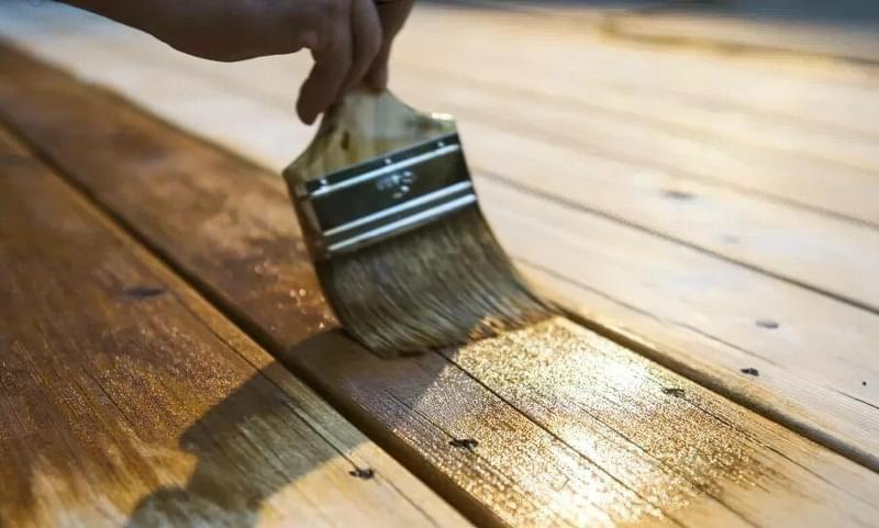 Використання оліфи для обробки деревини 4