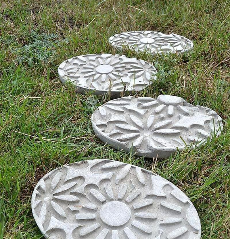 Приклади використання бетону в ландшафтному дизайні 2