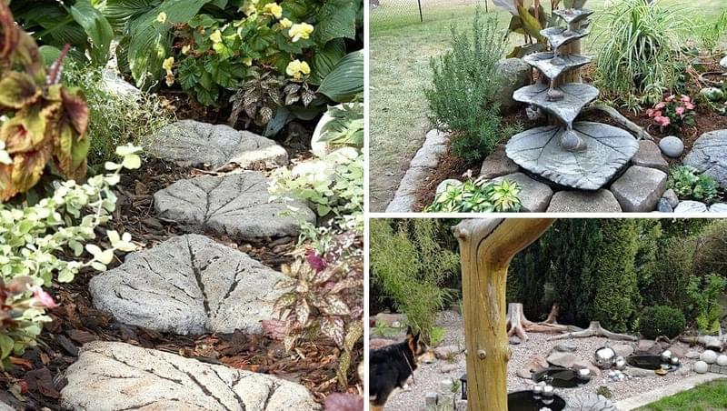 Приклади використання бетону в ландшафтному дизайні 5