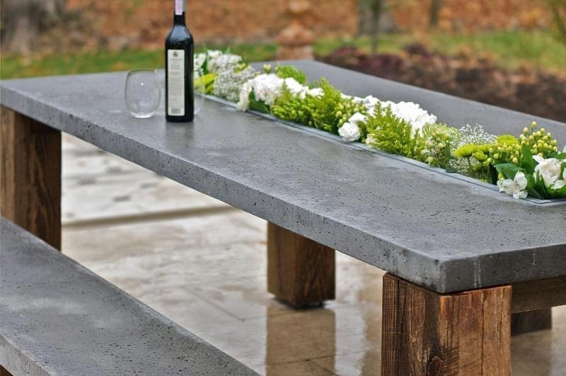 Приклади використання бетону в ландшафтному дизайні 7