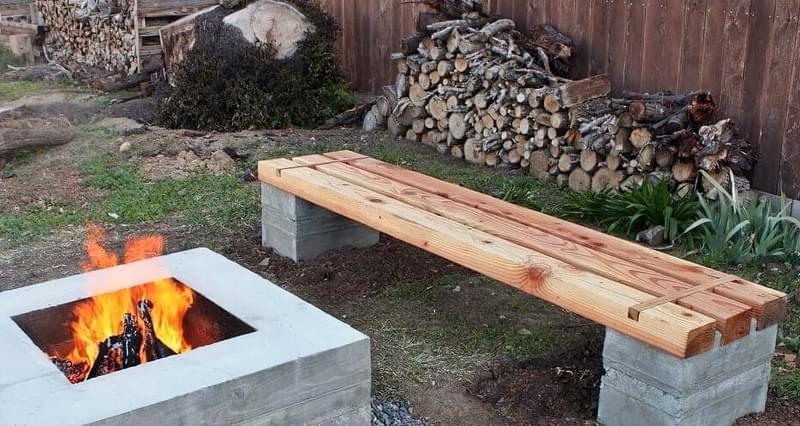 Приклади використання бетону в ландшафтному дизайні 8