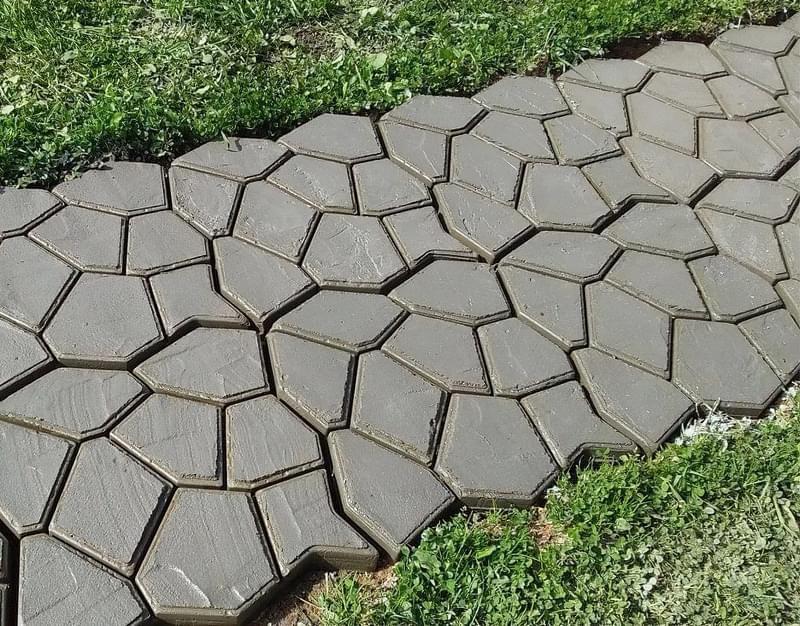 Приклади використання бетону в ландшафтному дизайні 1