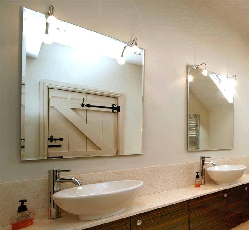 Фартух з плитки у ванній - новий модний тренд 8