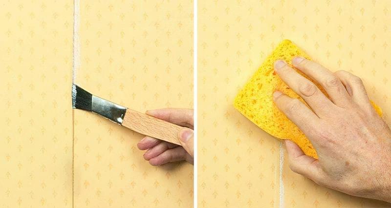 Реставрація старих шпалер своїми руками 3
