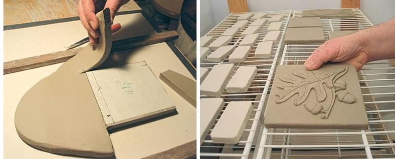 Як робити керамічну плитку своїми руками 3