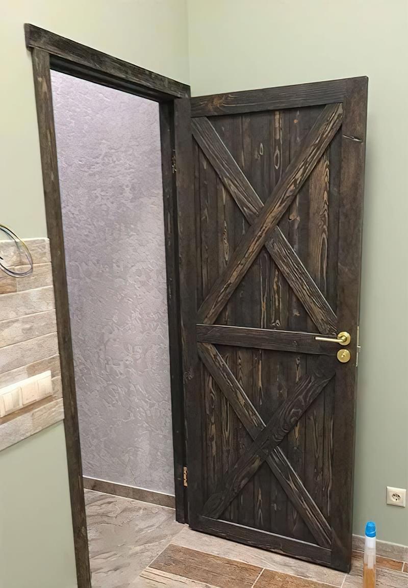 Двері в стилі лофт: фотопідбірка 5