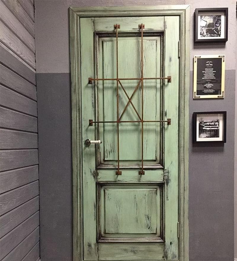 Двері в стилі лофт: фотопідбірка 8