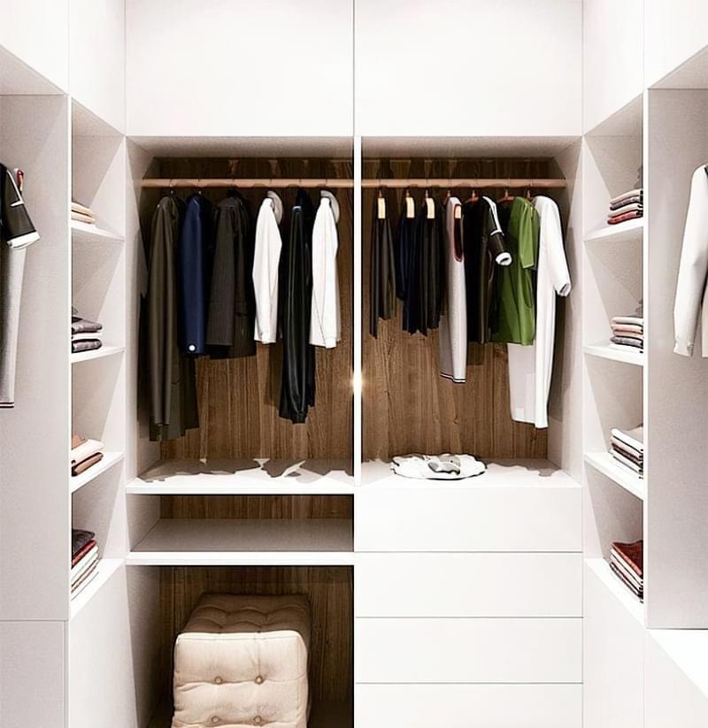 Як дизайнери підходять до облаштування гардеробної кімнати 2