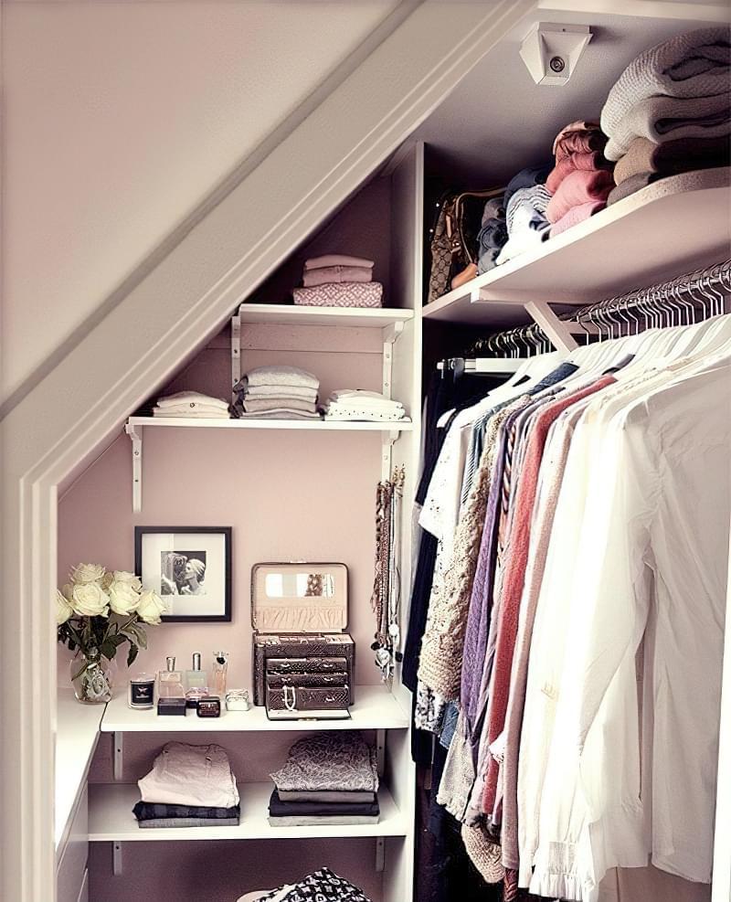 Як дизайнери підходять до облаштування гардеробної кімнати 4