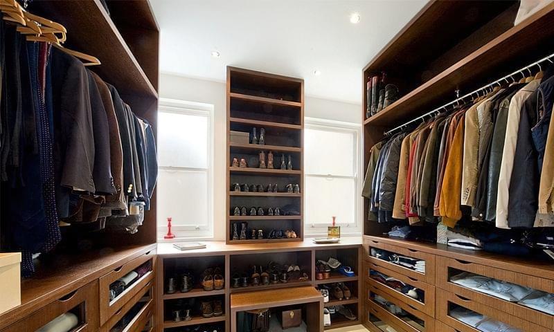 Як дизайнери підходять до облаштування гардеробної кімнати 5