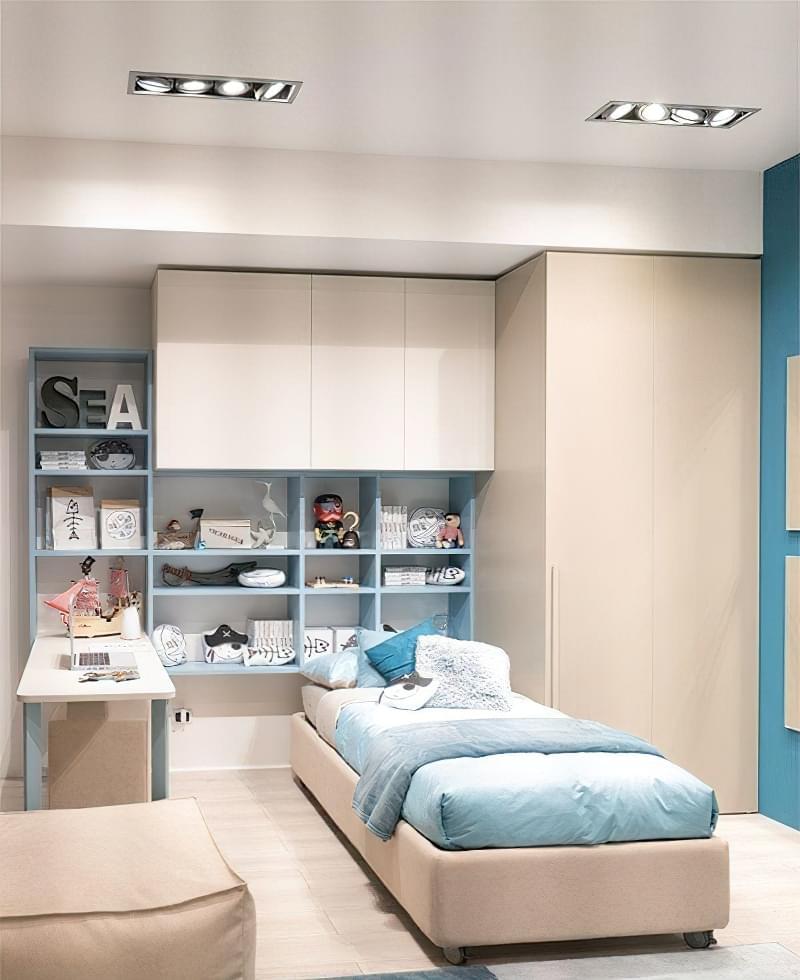 Оригінальні приклади використання модульних меблів в дитячій кімнаті 3