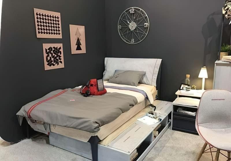 Оригінальні приклади використання модульних меблів в дитячій кімнаті 8