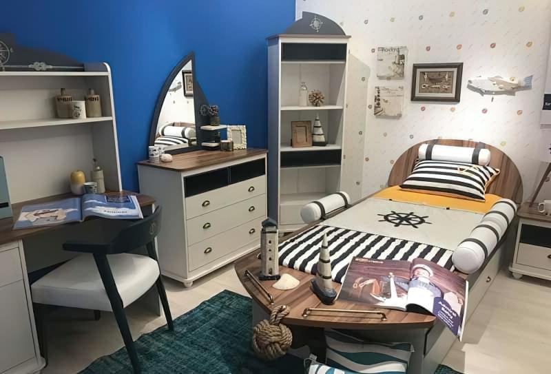 Оригінальні приклади використання модульних меблів в дитячій кімнаті 9