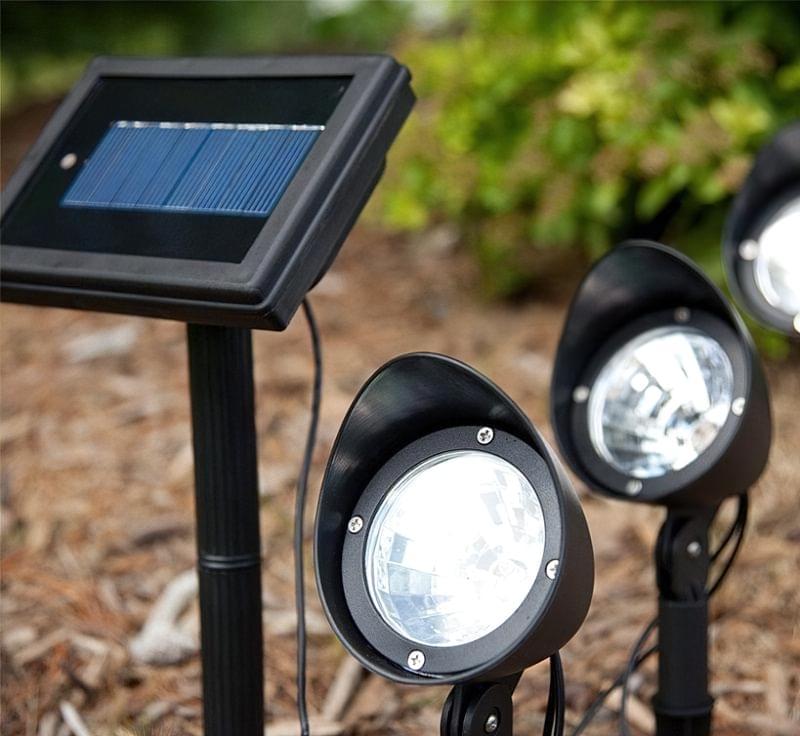 Ландшафтне освітлення на сонячних батареях 4