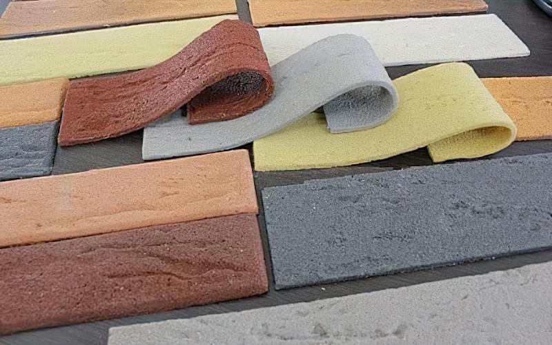 Гнучка плитка: унікальний матеріал для обробки 1