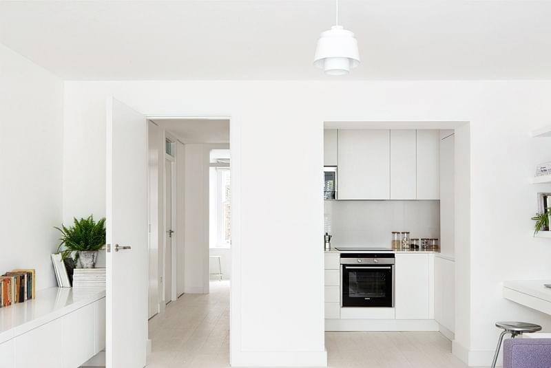 Кухня в ніші без вікна, приклади облаштування, фото 11