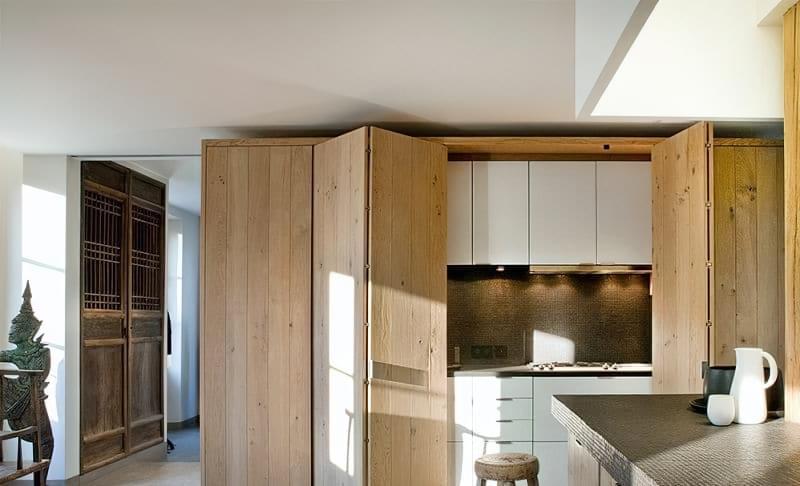 Кухня в ніші без вікна, приклади облаштування, фото 13