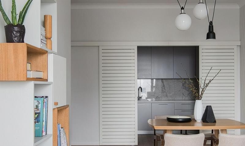 Кухня в ніші без вікна, приклади облаштування, фото 3
