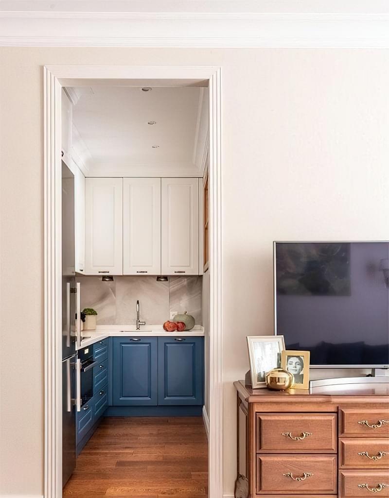 Кухня в ніші без вікна, приклади облаштування, фото 5