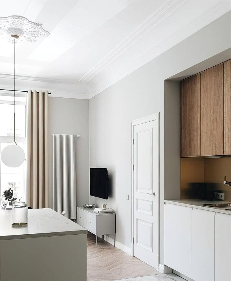 Кухня в ніші без вікна, приклади облаштування, фото 9