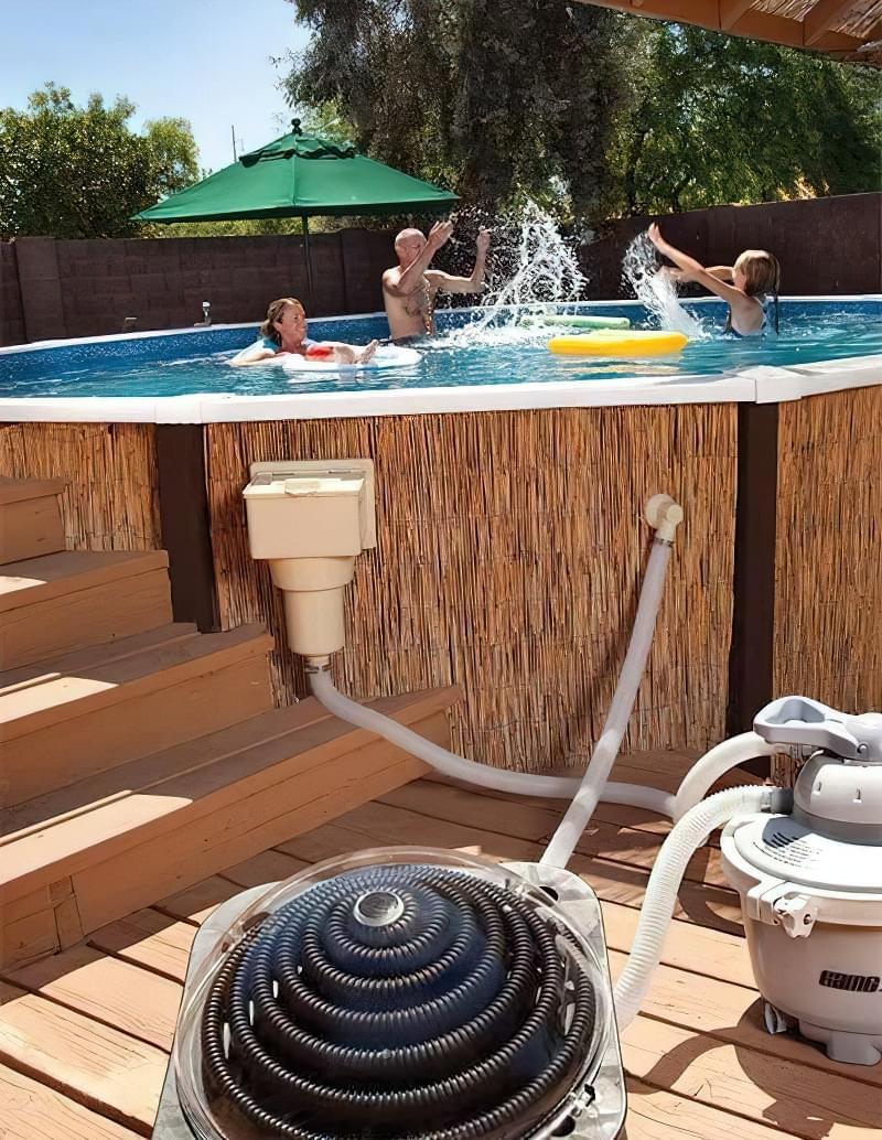Сонячні обігрівачі для басейнів 3