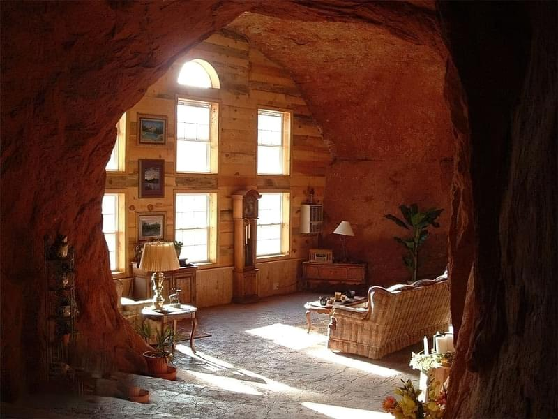 Будинки в печерах: фотопідбірка 4