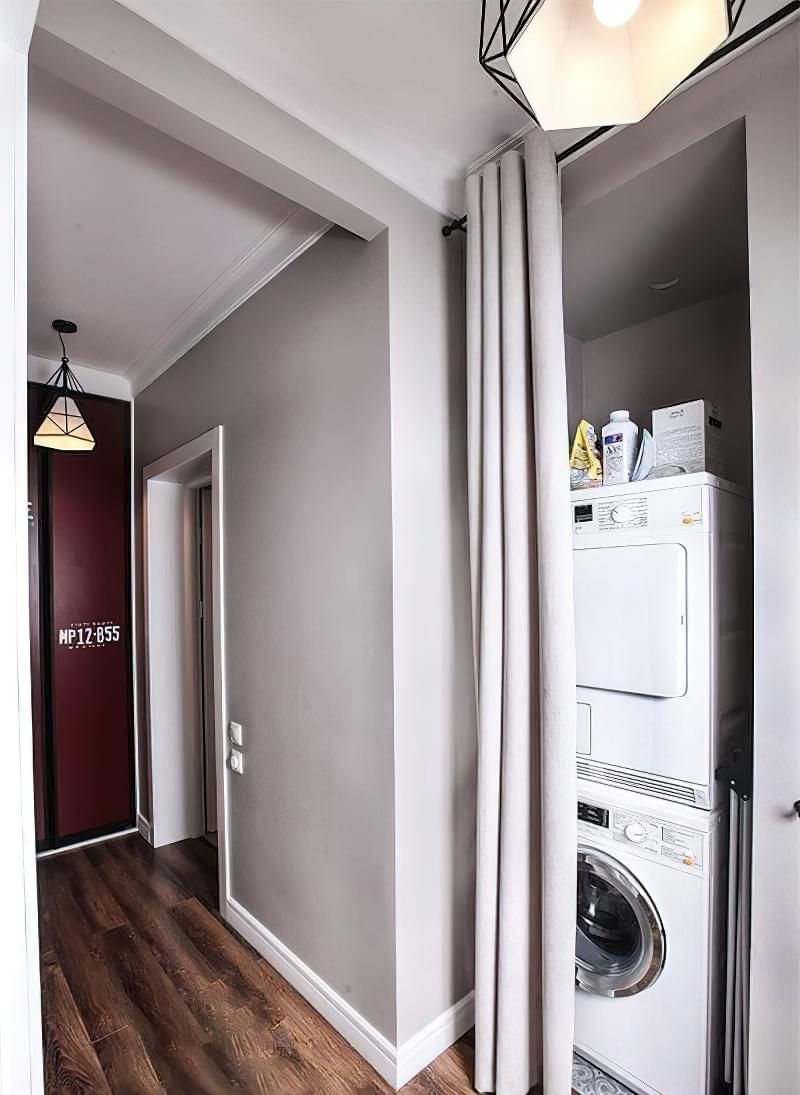 Як заховати пральну машину: фото, приклади 2